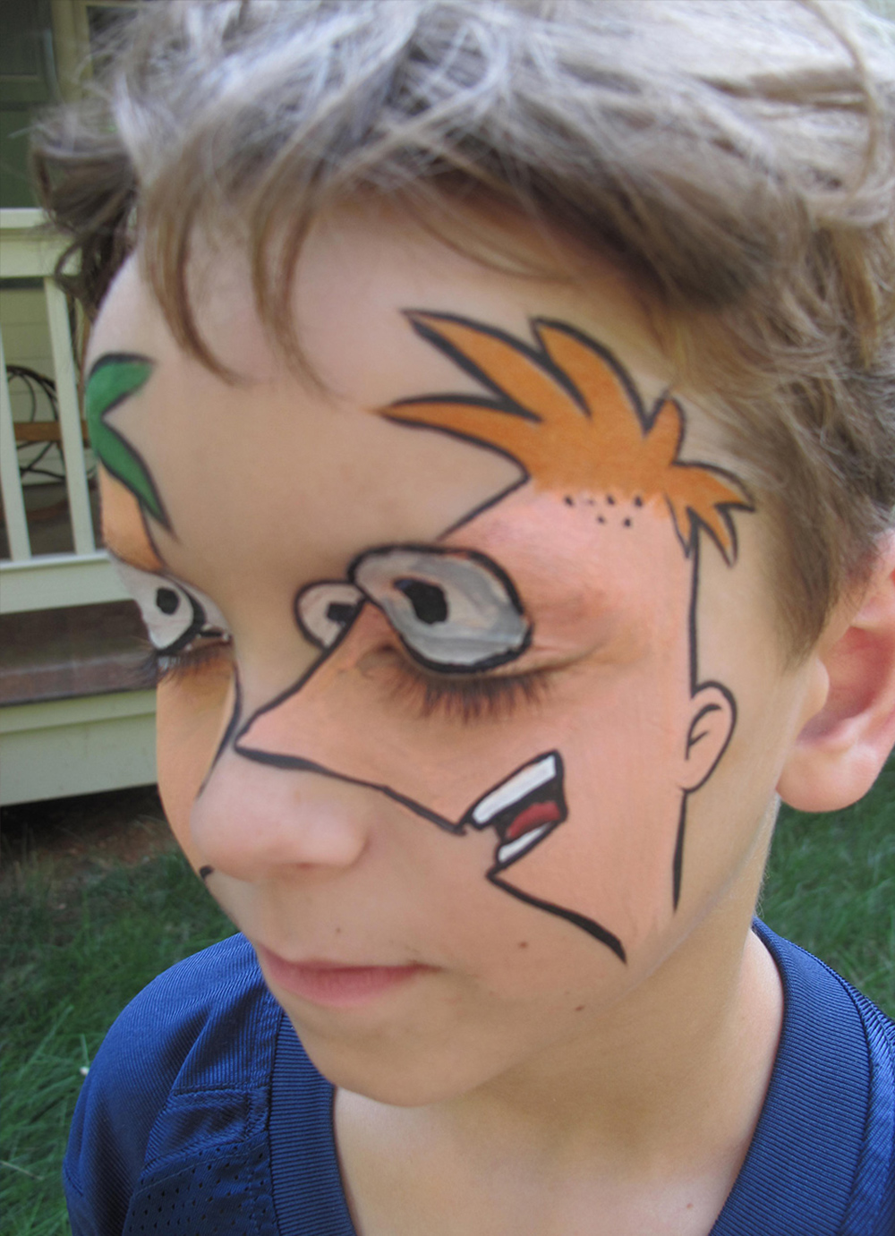 Expressions Face Painting Custom Theme